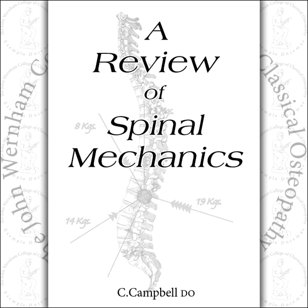 A Review of Spinal Mechanics