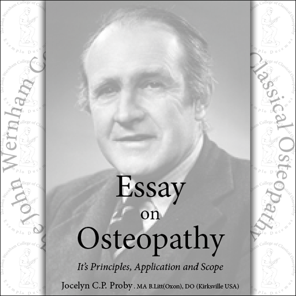 Osteopathic secondary essays