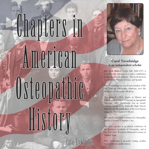 Chapters In American Osteopathic History