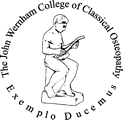 The John Wernham College of Classical Osteopathy